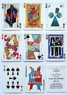 1973-LE-JEU-DES-PEINTRES-p-cards-Grimaud-19-Grand-Master-Painters