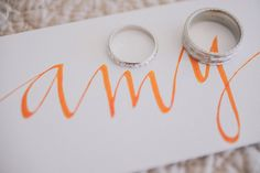 Orange and Coral Sonoma Wedding