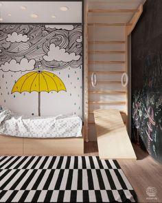Дизайн квартиры D/A - Архитектурная студия Зробім