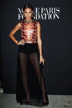 Joan Smalls    Vogue Foundation Gala