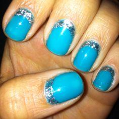 My birthday nails! <3 them!!!