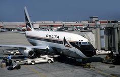 23094 Boeing 737-232 N322DL Delta Airlines Atlanta Hartsfield Airport by emdjt42, via Flickr