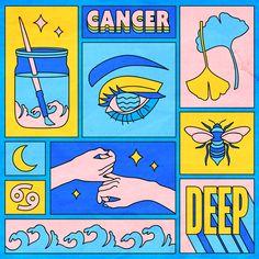 Cancer Framed Mini Art Print by berlinmichelle Cancer Framed Mini Art Print by Berlin Michelle – Light Wood – x Posca Art, Illustration Art, Illustrations, Grafik Design, Graphic Design Inspiration, Aesthetic Art, Collage Art, Framed Art Prints, Art Inspo