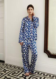 YOLKE | Silk Pyjamas - and this to match for Christmas please?!