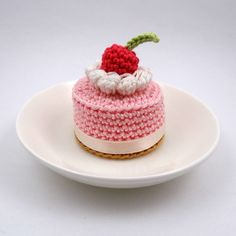 Pink Cherry Cake