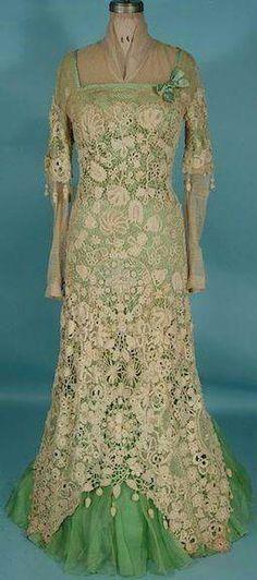 Irish Lace Dress