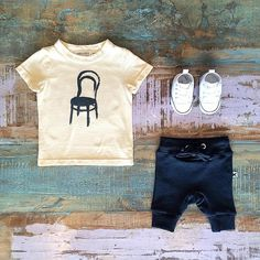 NEW • The Minti AW16 Baby collection launches at 6:30pm tonight! We have 40% off the last of our Minti summer pieces including these track shorts at Tiny Style online. Styled with the new Bobo Choses Thonet tee & Converse Baby Chucks, all available in our Noosa store •  www.tinystyle.com.au/Shop-Insta