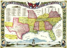 Confederacy. To this day I always feel like there is still a divede between the South and the rest of the country. To break down the reason you must examine the weather of the area and what kind of Europeans would settle there. Tougher conditions but more money to be made through crops