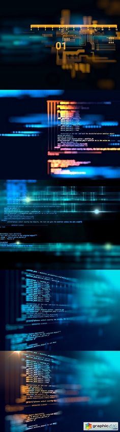 Programming code abstract technology background of software deve  stock images
