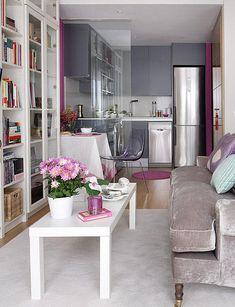 Apartamento de  40 m2 muy bien aprovechado.