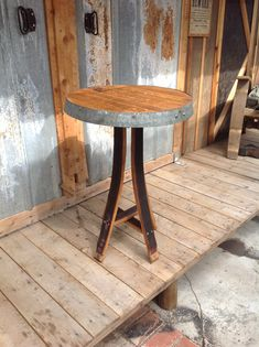 Long Legged Table — King Barrel