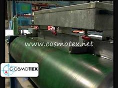 LINEAL screen printing machine / Máquna lineal para estampado textil. - YouTube