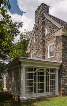 Exterior Photos Stone House Design Ideas, Pictures, Remodel, and Decor - page 18