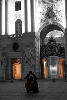 My fondest moment in Vienna, the cello player in front of the Hofburg palace. Peter Profant doesn't play his instrument with his hands, he plays with his soul, touching the ears and hearts of many travelers from all over the world. I am blessed to have been one of them.
