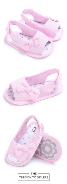 Beautiful first walker baby girls shoes Pink and black colors available Super soft and comfy! Mama's top pick this season Please see size chart photo for measurements Baby Girl Shoes, Girls Shoes, Baby Girls, Toddler Girl, Princess Shoes, 1 Girl, Flip Flops, Anna, Footwear