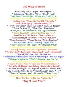 100 Ways to Praise Your Child | Flickr - Photo Sharing!