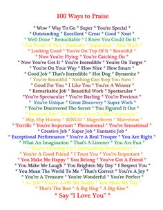 100 Ways to Praise Your Child | Flickr - Photo Sharing!