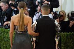 Pin for Later: Gigi Hadid and Zayn Malik Make Their Red Carpet Debut at the Met Gala