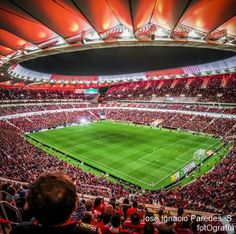 Soccer Stadium, Football Stadiums, Spain Soccer, At Madrid, Leonel Messi, European Football, Spain And Portugal, Sport, Architecture