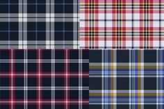 colorful plaid patterns freebie illustrator download