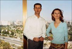 President Bashar Al-Assad and First Lady Asma Al-Assad
