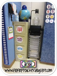 Smart way to use your file cabinets - Teaching in Flip Flops