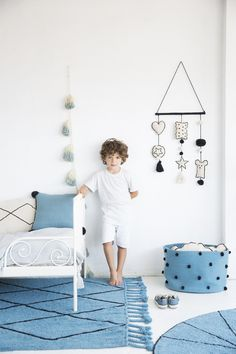 """Lorena Canals """"Baby"""" Wanddekoration in Natur/Schwarz Stencils, Lorena Canals, Small Cushions, Fancy, Washable Rugs, Kid Beds, Window Coverings, Home Renovation, Kids Bedroom"""