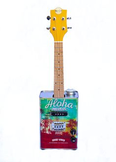 Aloha Oil Can Ukulele (Uke Life Edition), $199.99 Ukulele Design, Good Vibes, Guitars, Oil, Music, Unique, Musica, Musik, Muziek
