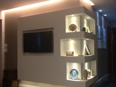 Niche in wall unit design