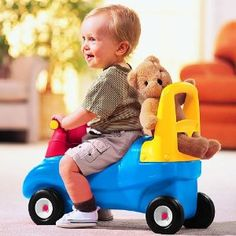 Amazon.com: Little Tikes Push & Ride Racer (Discontinued by manufacturer): Toys & Games