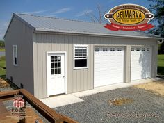 Residential Pole Building Gallery - View Photos Of Post-Frame Buildings In Delmarva