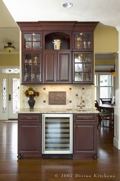 Wet Bar, With Built In Wine Cooler....this Is A Must In The New Digs | Wet  Bars And Bar Carts | Pinterest | Caves, Built Ins And Bar