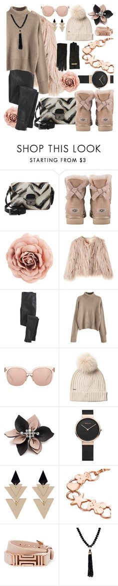 """a little bit baby."" by ezgi-g ❤ liked on Polyvore featuring Longchamp, UGG, Wrap, Linda Farrow, Woolrich, Marni, Toolally, TOUS, Tory Burch and 14th & Union"