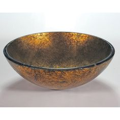 Legion Furniture Burnished Glass Sink Bowl