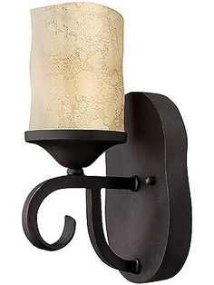 Candle Sconces Wall. Casa Single Sconce in Olde Black