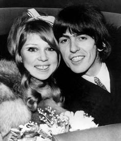 George Harrison and actress Patti Boyd (AP At the beginning - Total Love. George Harrison and actress Patti Boyd were married for eight years (AP) until. Poppy Delevingne, Miranda Kerr, Kate Moss, George Harrison Pattie Boyd, Patti Harrison, Stevie Ray Vaughan, Glamour, Wedding Dresses Photos, Wife And Girlfriend