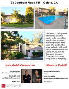New Listing & Open House this Sunday 1-4! #JonMahoney #SantaBarbara #Goleta #RealEstate