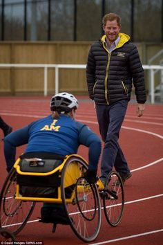 Prince Harry asked the athletes to be ambassadors for what he called the 'Invictus spirit' to spread the word about the games and help support our heroes.
