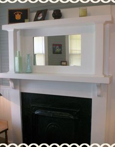 Fireplace mantel to build for dining room.