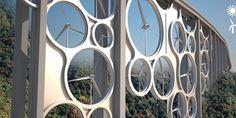 Ponte sustentável tem turbinas eólicas em vão livre | vivagreen