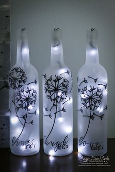 Christmas Wine Bottle Craft