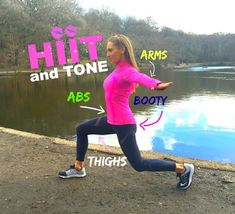 Hiit and tone workout which is suitable for every fitness level, as throughout the routine I show you different variations depending on your fitness level. T...