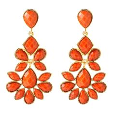Love the orange gems