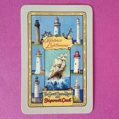 HISTORIC LIGHTHOUSES OF THE SHIPWRECK COAST. GREAT OCEAN ROAD VICTORIA AUSTRALIA. Swap playing cards. #swapcard #playingcards #lighthouses #shipwreck #greatoceanroad #capenelson #Queenscliff #portfairy #aireysinlet #portland #capeotway #pointlonsdale #Victoria #Australia #card #cardcollection by top_swap_cards http://ift.tt/1PI0pio