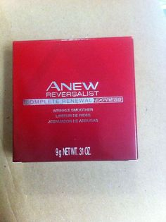AVON ANEW REVERSALIST COMPLETE RENEWAL EXPRESS WRINKLE SMOOTHER Full Size NIB! #Avon