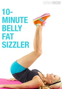 This is a great ab routine when you only have a few minutes in between tasks.