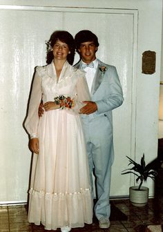 Gunne Sax prom dress