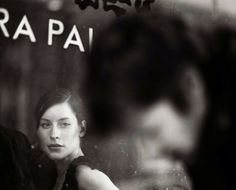 Saul Leiter :: 'focus' on her, no title more [+] by this photographer