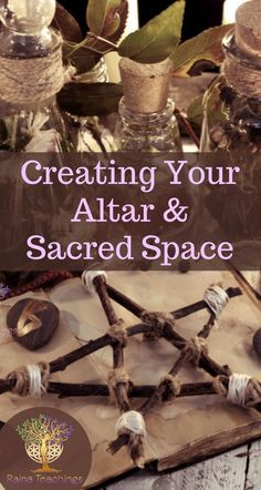 Creating Your Altar and Sacred Space - - The moment I had my awakening I almost instantly set up my sacred space and altar. My spirit teachers, even when unfamiliar to me, were right there guiding me to gather and create what is now my 'altar. Wicca For Beginners, Witchcraft For Beginners, Magick Spells, Wiccan Witch, Magick Book, Wicca Altar, Wiccan Rituals, Wiccan Decor, The Cure