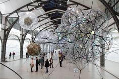 Cloud Cities au musée Hamburger Bahnhof de Berlin - Photo de Suziesparkle.